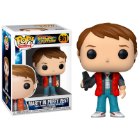Funko POP! Marty McFly with Video Camera