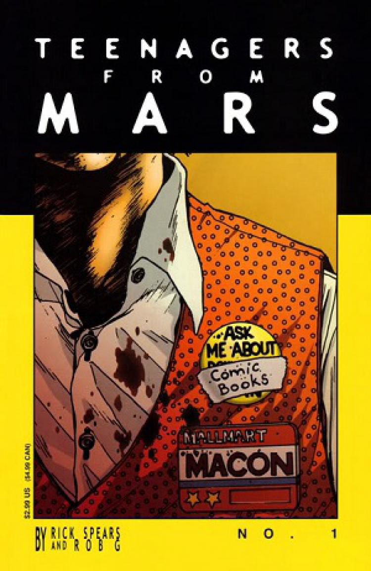 Teenagers From Mars TPB