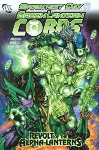 Green Lantern Corps: Revolt of the Alpha Lanterns HC