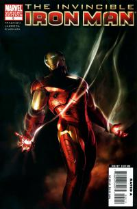 Invincible Iron-Man #5B (2008 Series)