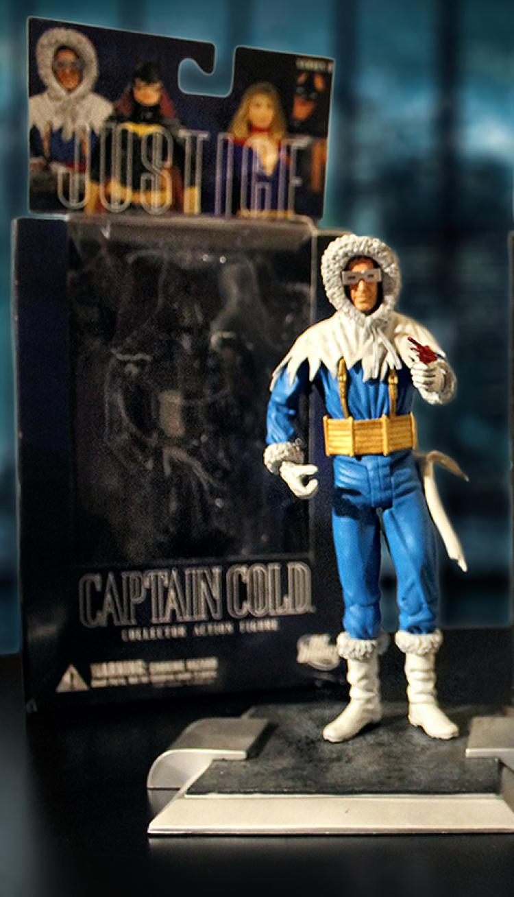 DC Justice League Series 8 CAPTAIN COLD (Used/Boxed)