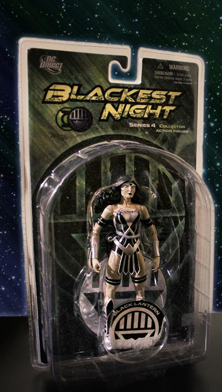 DC Direct Wonder Woman Blackest Night Series 4 (Used/Boxed)