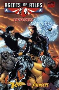 Agents of Atlas Versus X-Men and Avengers HC