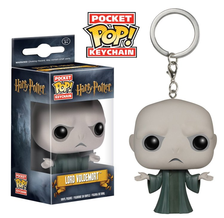 Funko Pocket Pop! Keychain: Voldemort - Волан-де-Морт