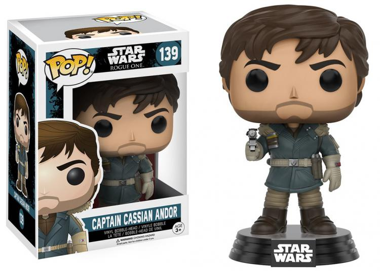 Funko POP! Star Wars: Rogue One - Captain Cassian Andor (Кассиан Андор)