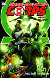 Green Lantern Corps: Ring Quest TPB