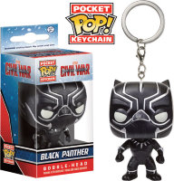 Funko Pocket Pop! Keychain: Black Panther - Чёрная Пантера