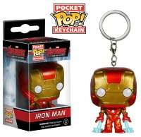 Funko Pocket Pop! Keychain: Avengers - Iron Man (Железный Человек)