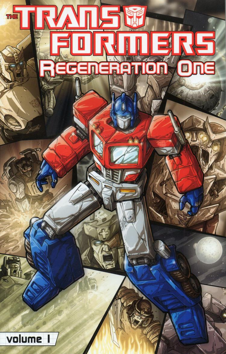 Transformers: Regeneration One Vol.1 TPB