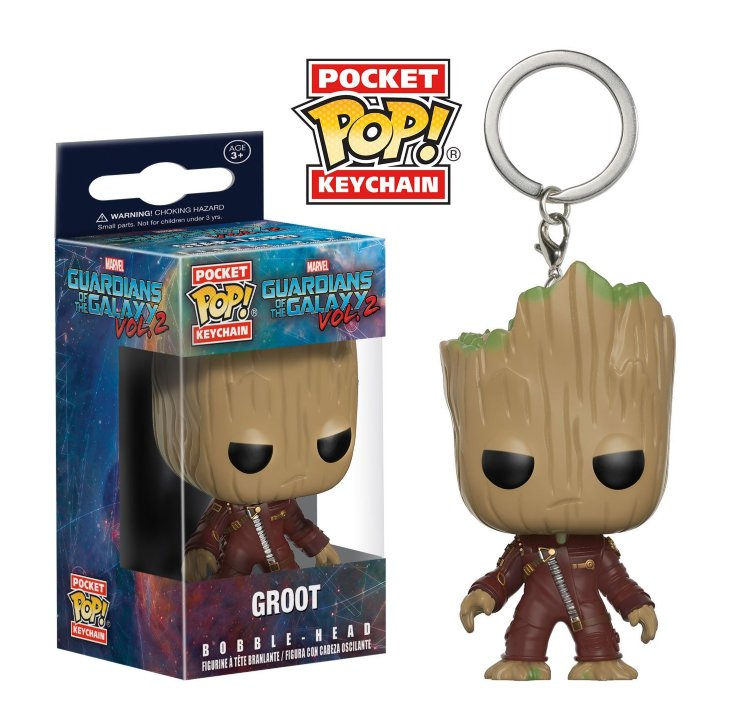 Funko Pocket Pop! Keychain: Guardians of the Galaxy 2 - Groot (Грут)