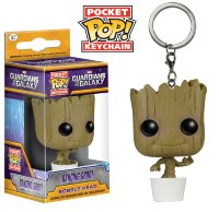 Funko Pocket Pop! Keychain: Guardians of the Galaxy - Dancing Groot (Танцующий Грут)