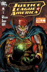 Justice League Of America #6 (2006 Series)