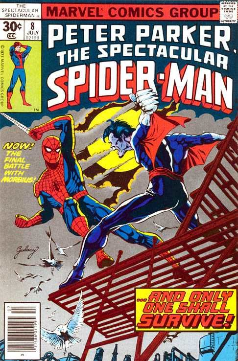 Spectacular Spider-Man (1976 1st Series) #8