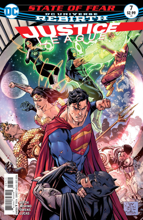 Justice League (DC Universe Rebirth) #7