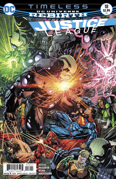 Justice League (DC Universe Rebirth) #18