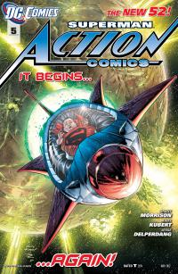 Superman Action Comics (The New 52) #5