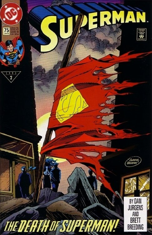 Superman  #75 (First Print)