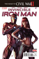 Invincible Iron Man (2015 2nd Series) #7 (First Appearance of Riri Williams)
