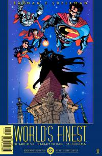 Batman and Superman World's Finest #9
