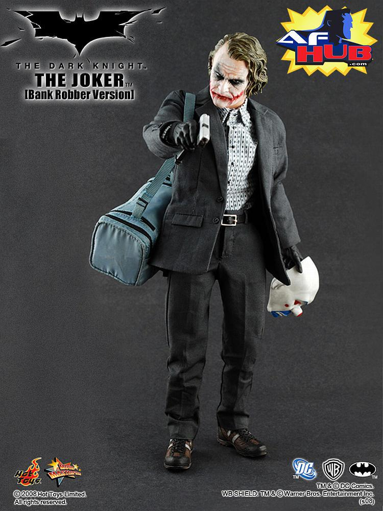 Hot Toys: The Dark Knight - Joker Bank Robber 1/6