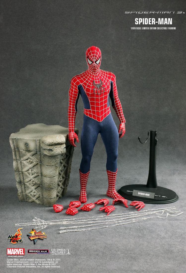 Spiderman 3: Hot Toys Movie Masterpiece 1/6