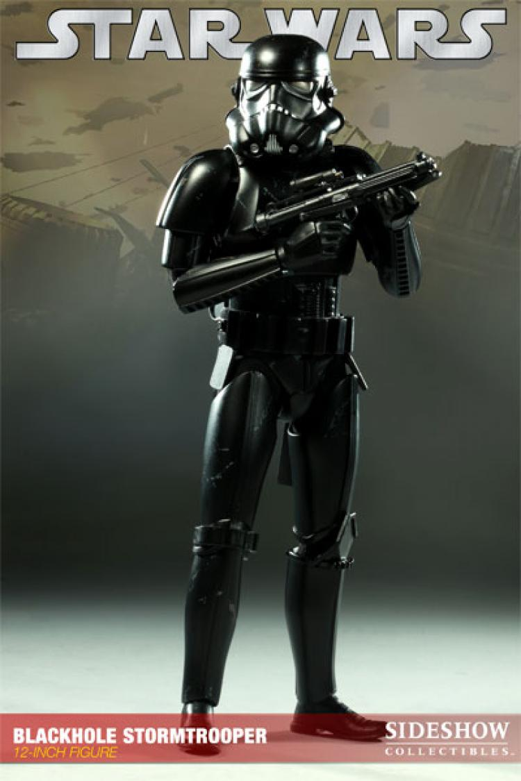 Star Wars Sideshow Collectibles Exclusive 1/6 Blackhole Stormtrooper