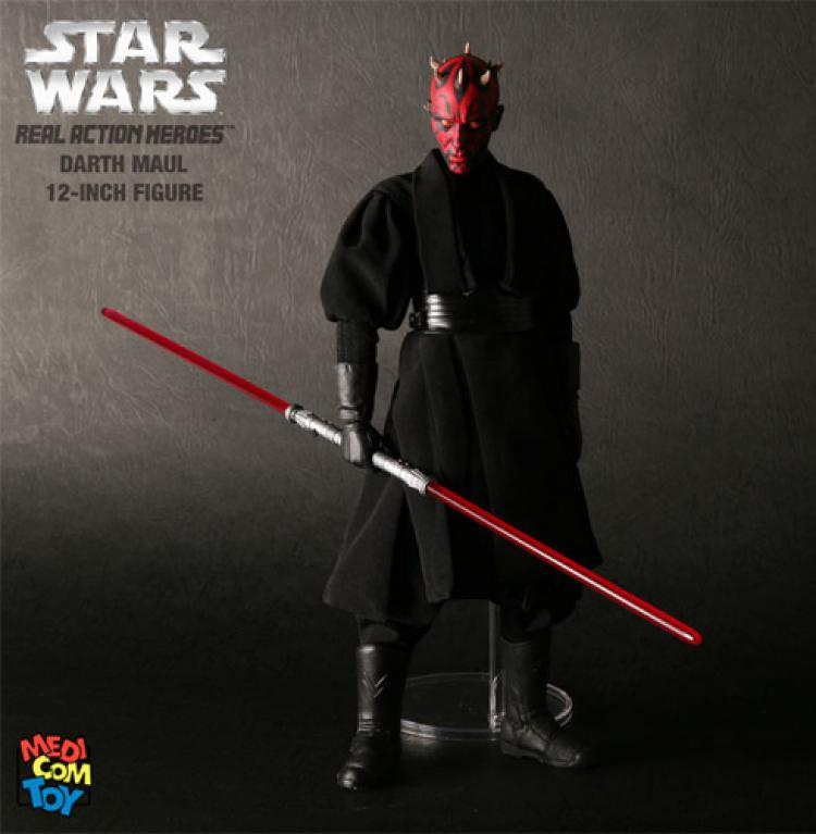 Star Wars Medicom Deluxe 1/6 Figure Darth Maul Sith Apprentice