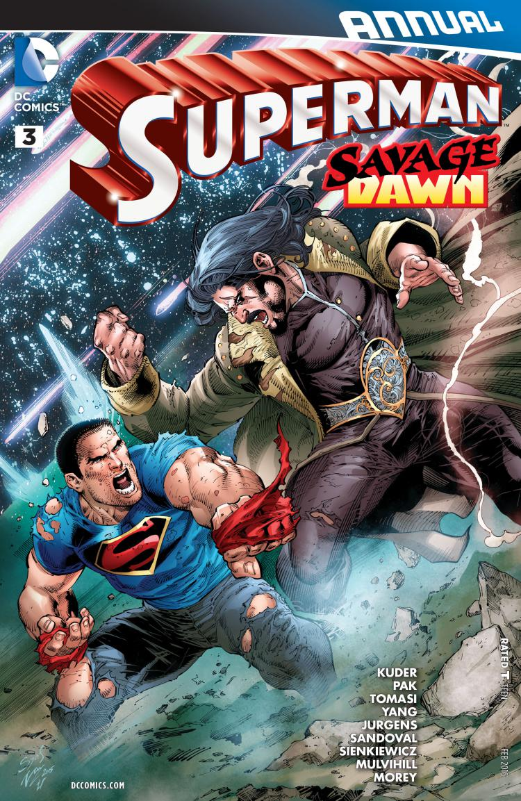 Superman Annual #3 (2011 Series)
