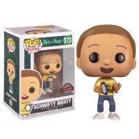 Funko POP! Rick and Morty -  Get Schwifty Morty (Эксклюзив Barnes and Noble))