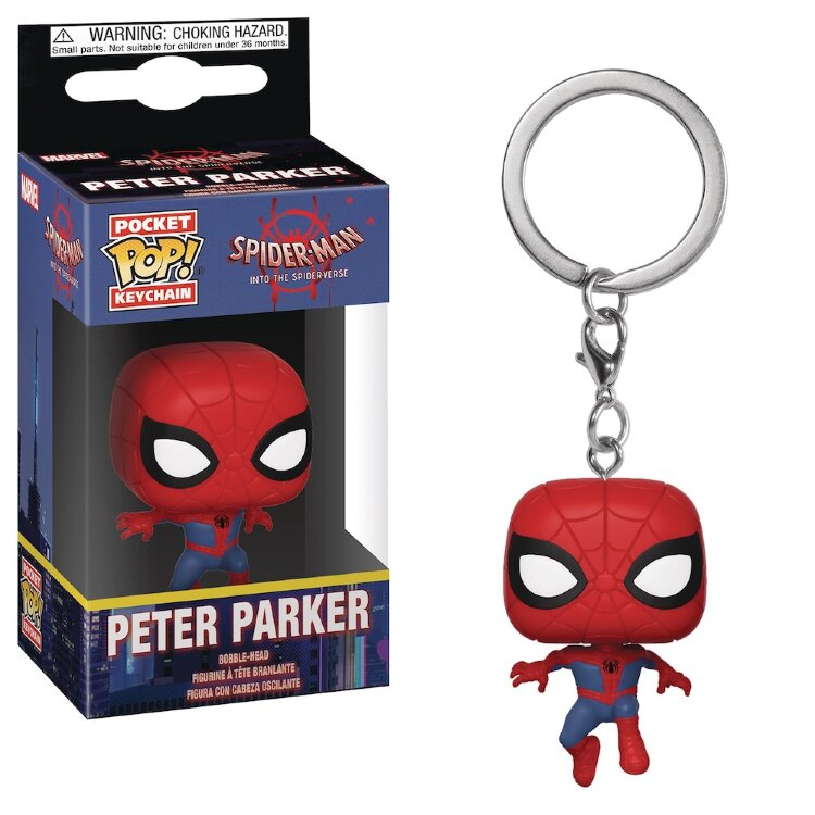 Funko POP! Keychain - Spider-Man Peter Parker
