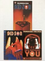 Superman Red Son #1-3 (First Print/ SuperRare)